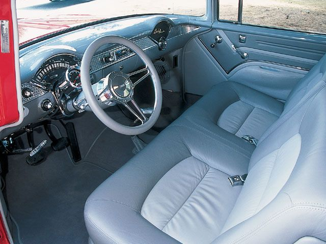 CHEVROLET BEL AIR interior