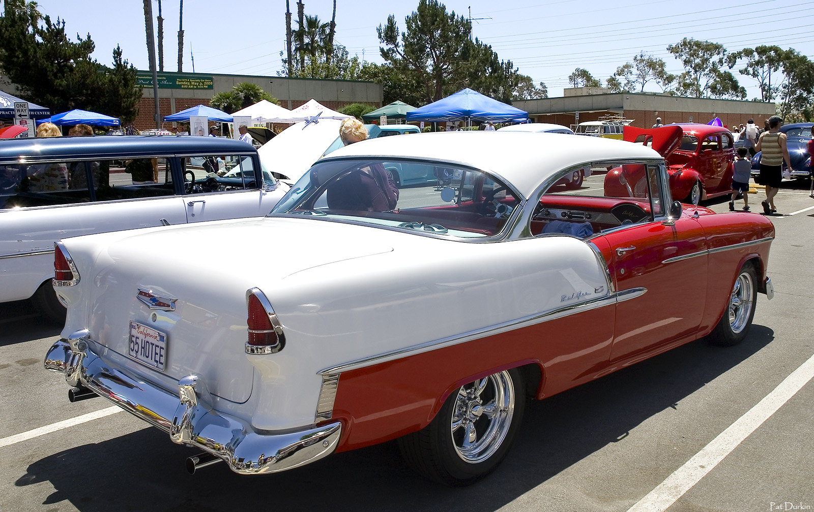 CHEVROLET BEL AIR white