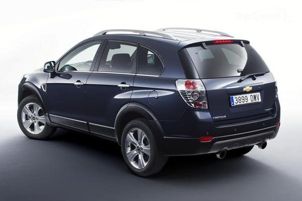 CHEVROLET CAPTIVA 2.0 black