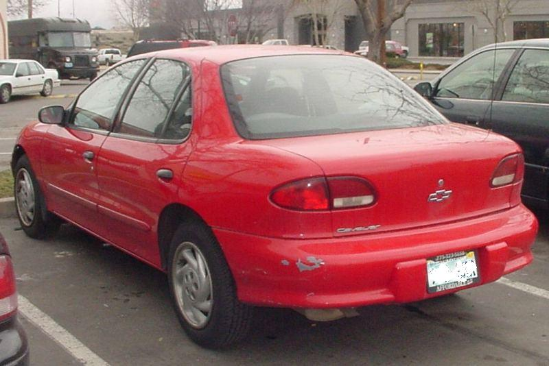CHEVROLET CAVALIER red