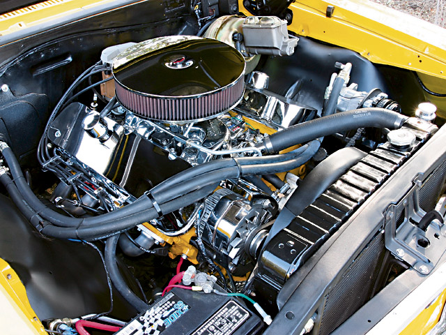 CHEVROLET CHEVELL SS engine