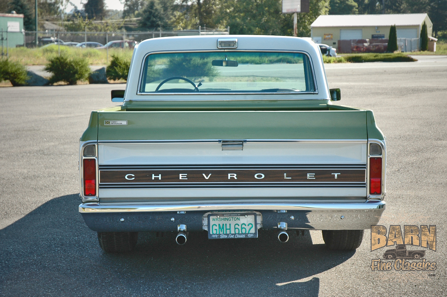 CHEVROLET CHEYENNE green