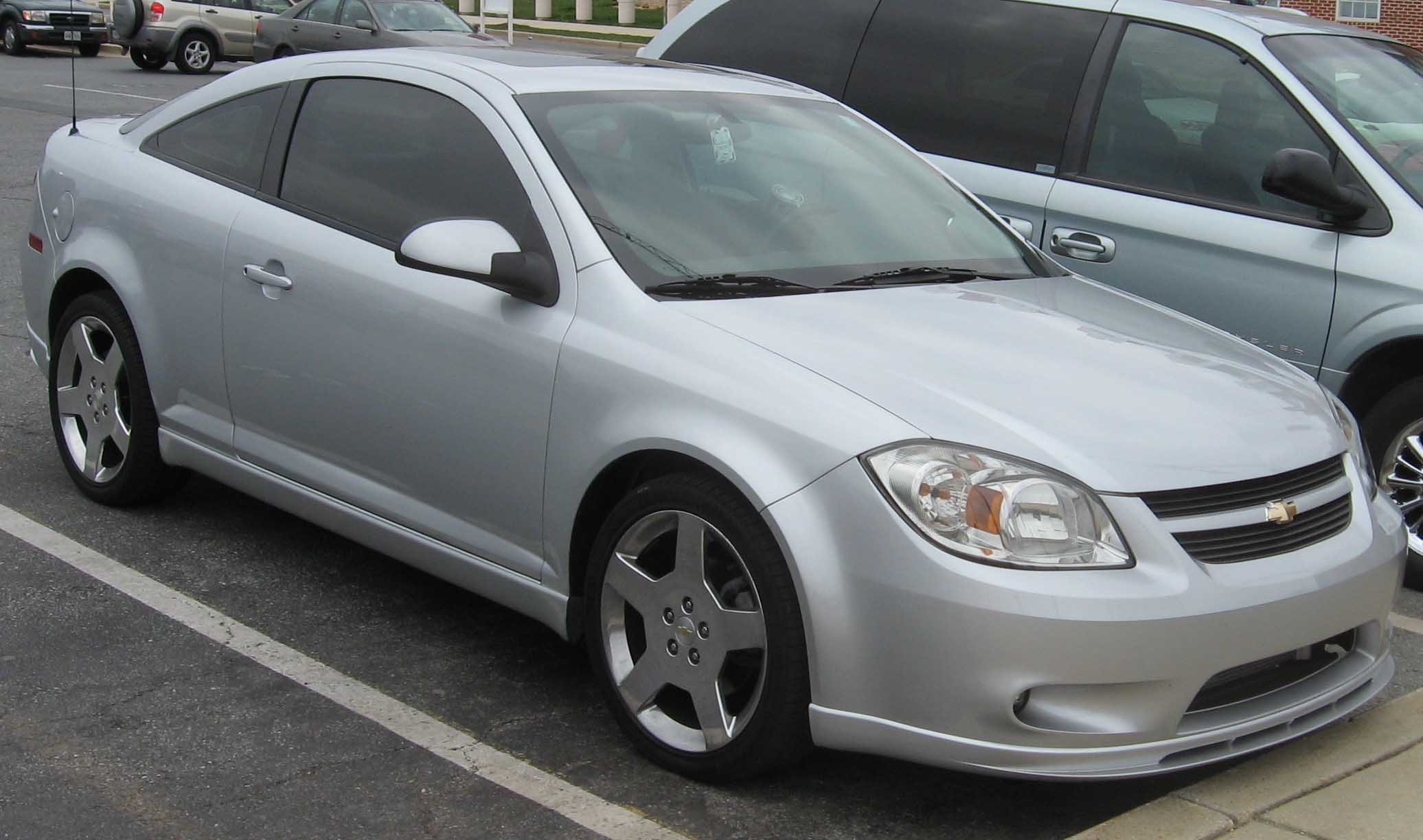 CHEVROLET COBALT COUPE white