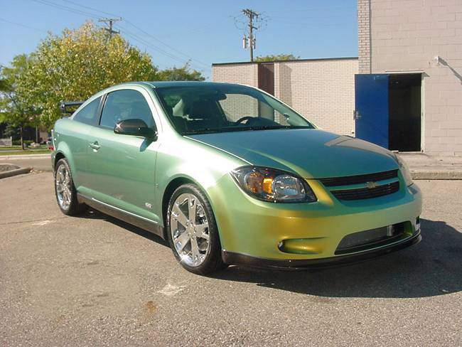 CHEVROLET COBALT green