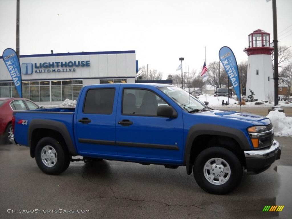 CHEVROLET COLORADO 4X4 blue
