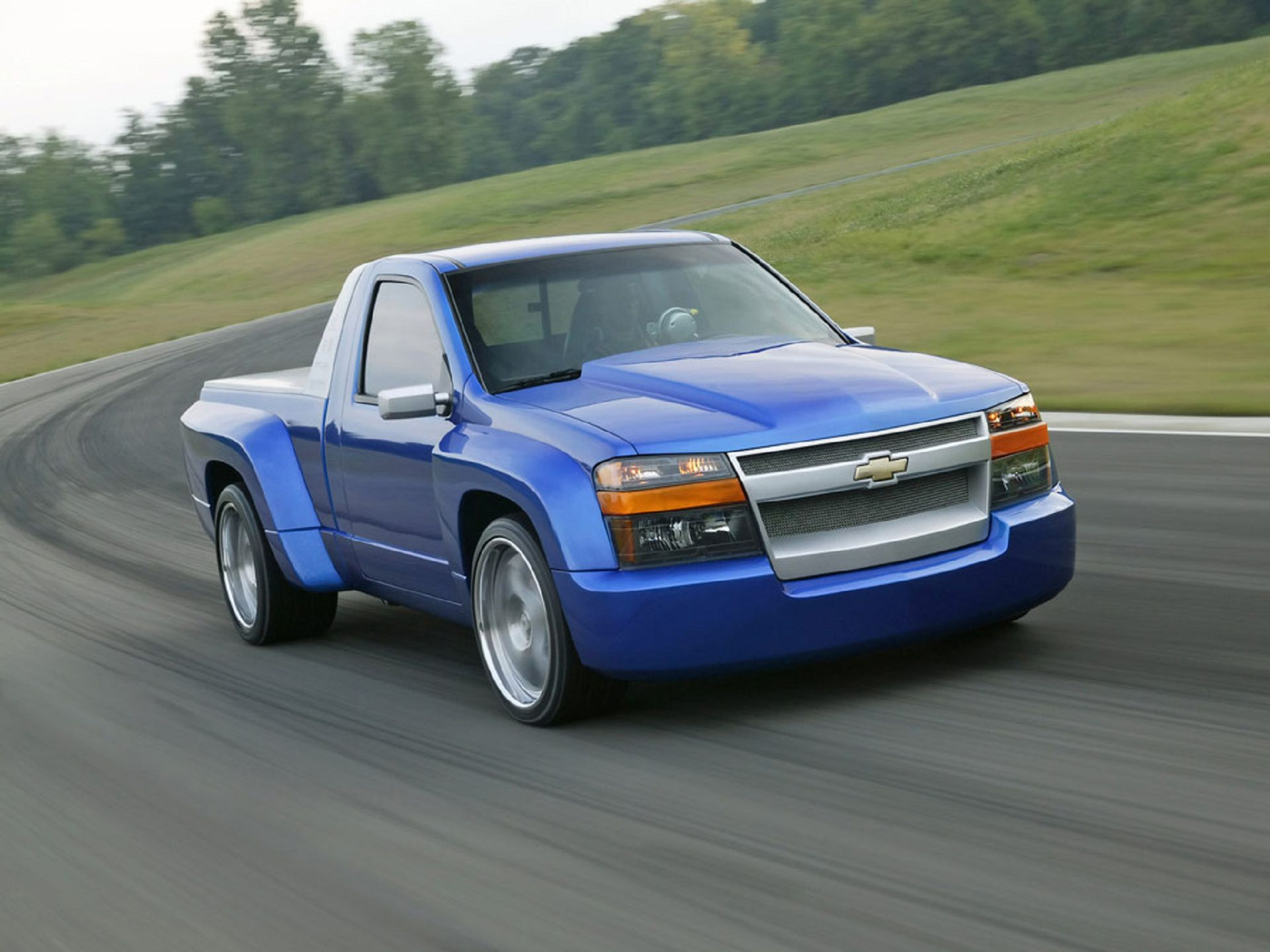 CHEVROLET COLORADO blue