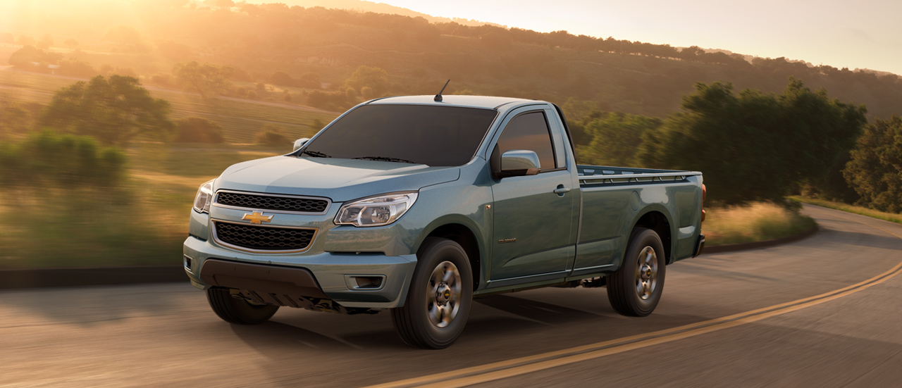 CHEVROLET COLORADO brown