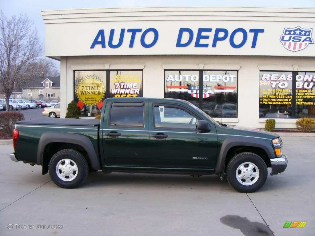 CHEVROLET COLORADO green