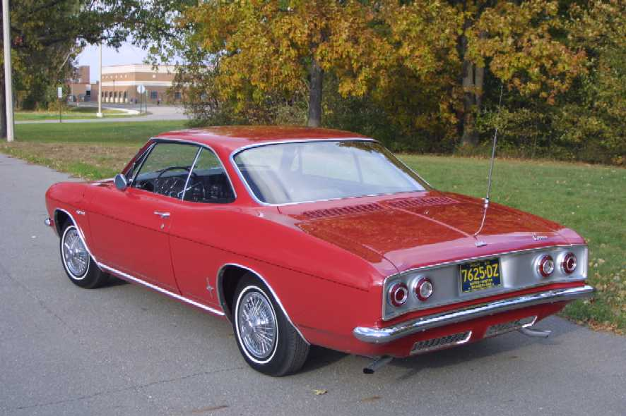 CHEVROLET CORVAIR CORSA brown