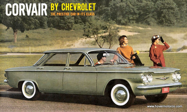 CHEVROLET CORVAIR green