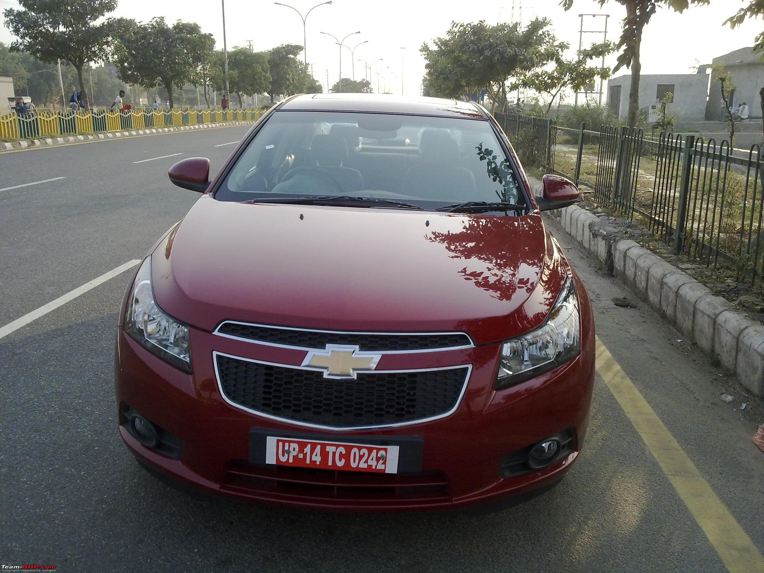 CHEVROLET CRUZE red
