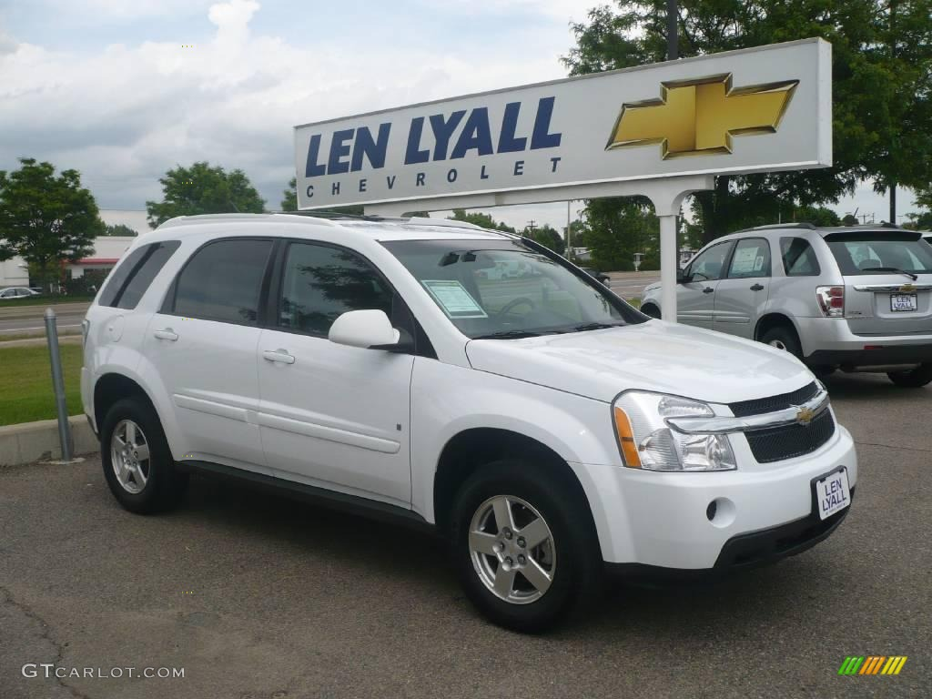 CHEVROLET EQUINOX LT AWD white