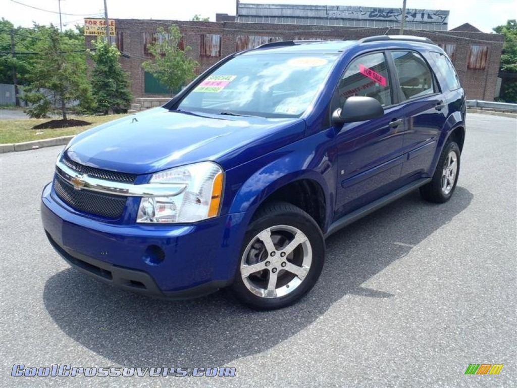 CHEVROLET EQUINOX blue
