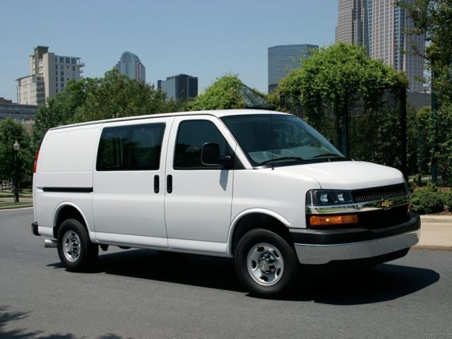 CHEVROLET EXPRESS 1500 black