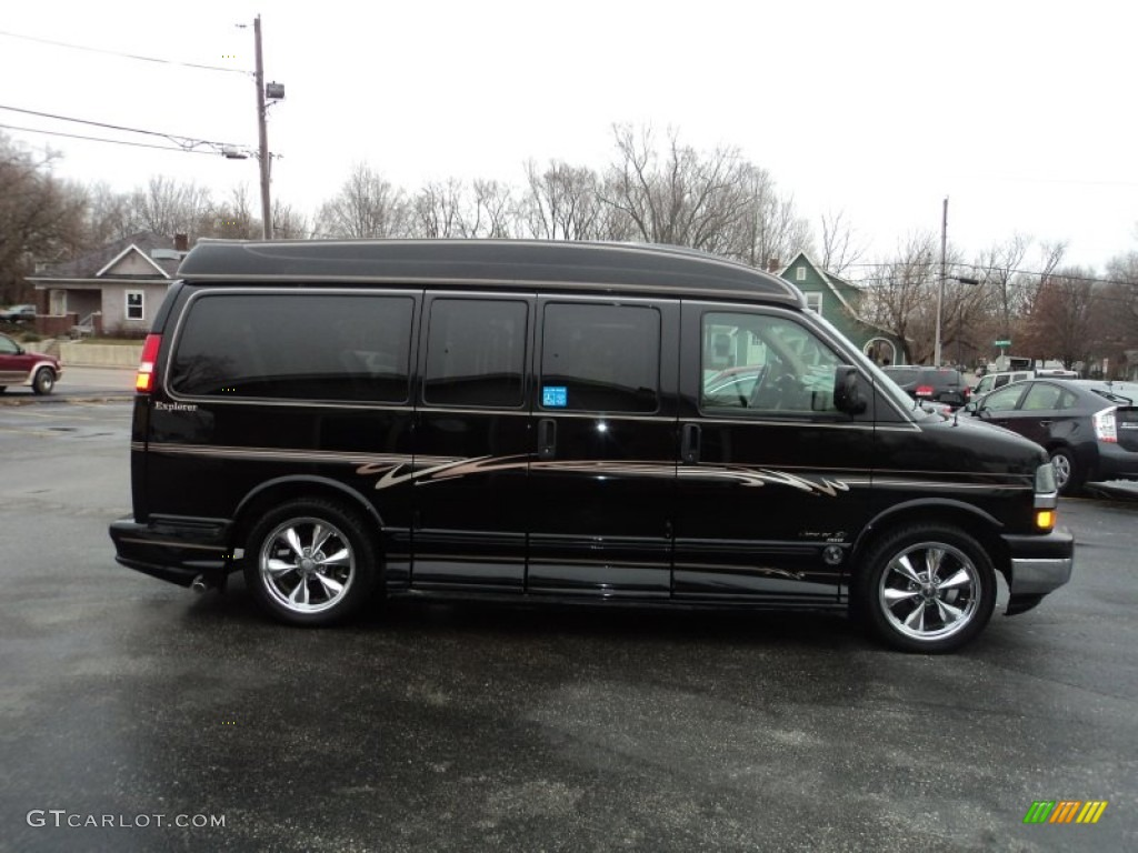 CHEVROLET EXPRESS black
