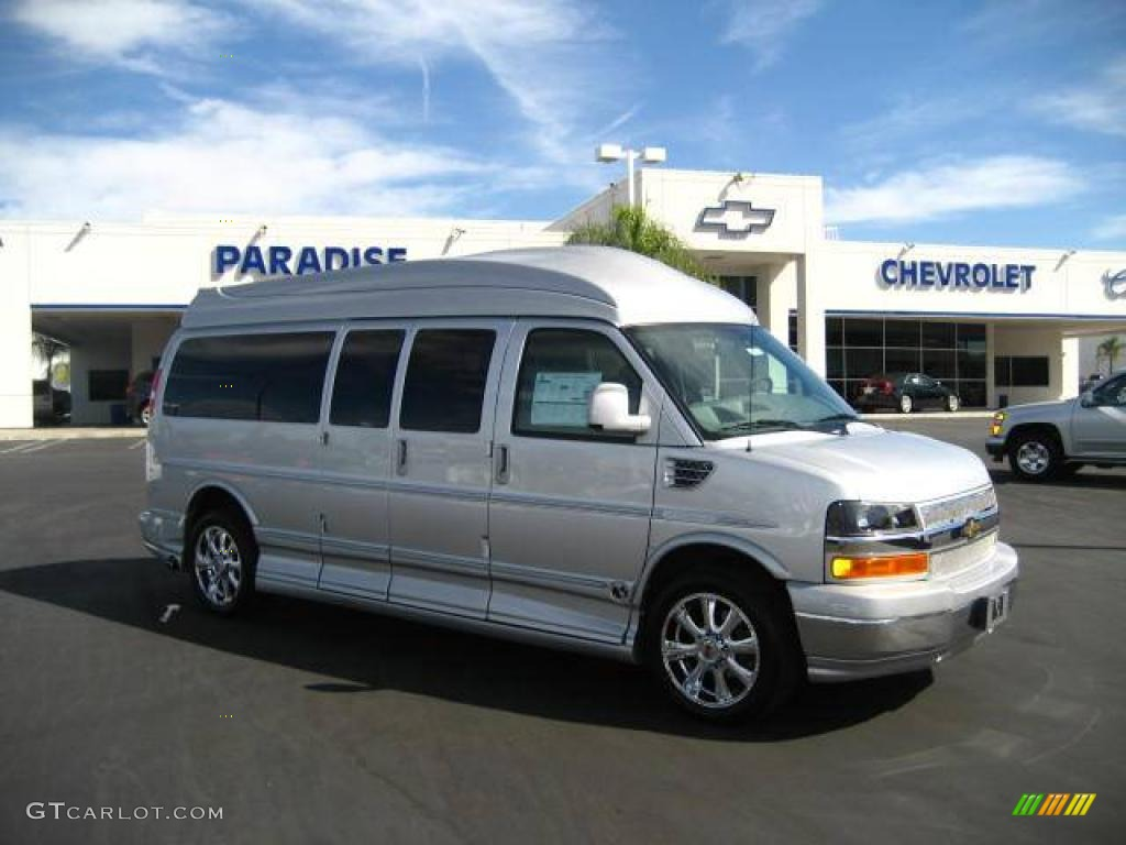 CHEVROLET EXPRESS silver