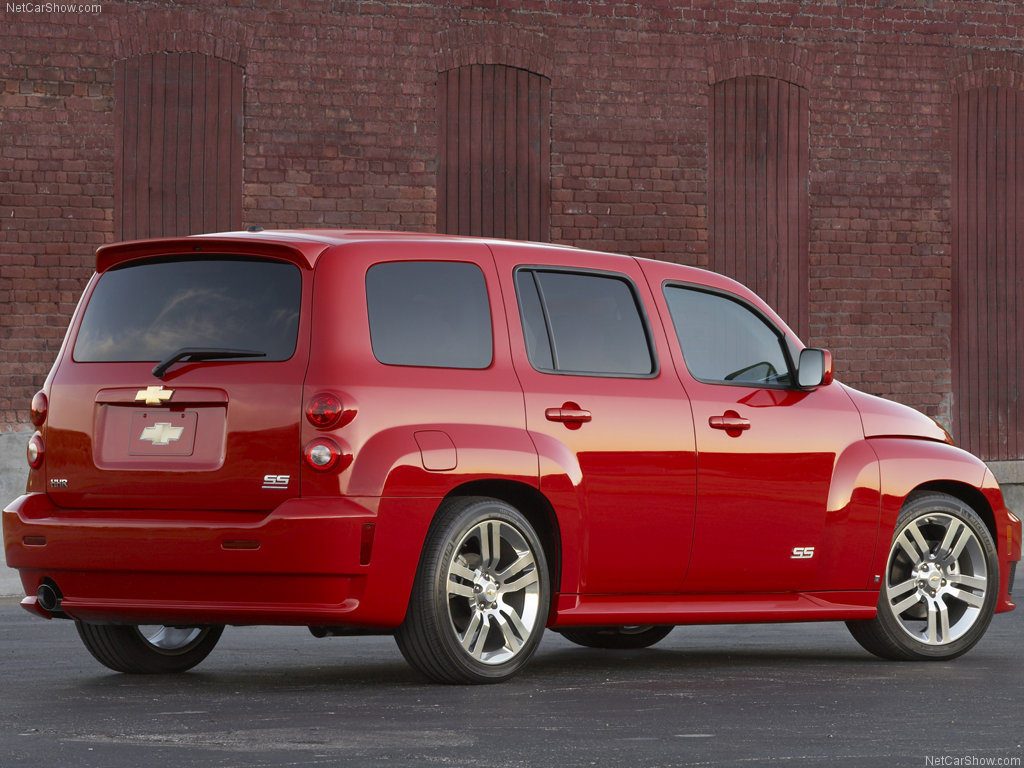 CHEVROLET HHR red