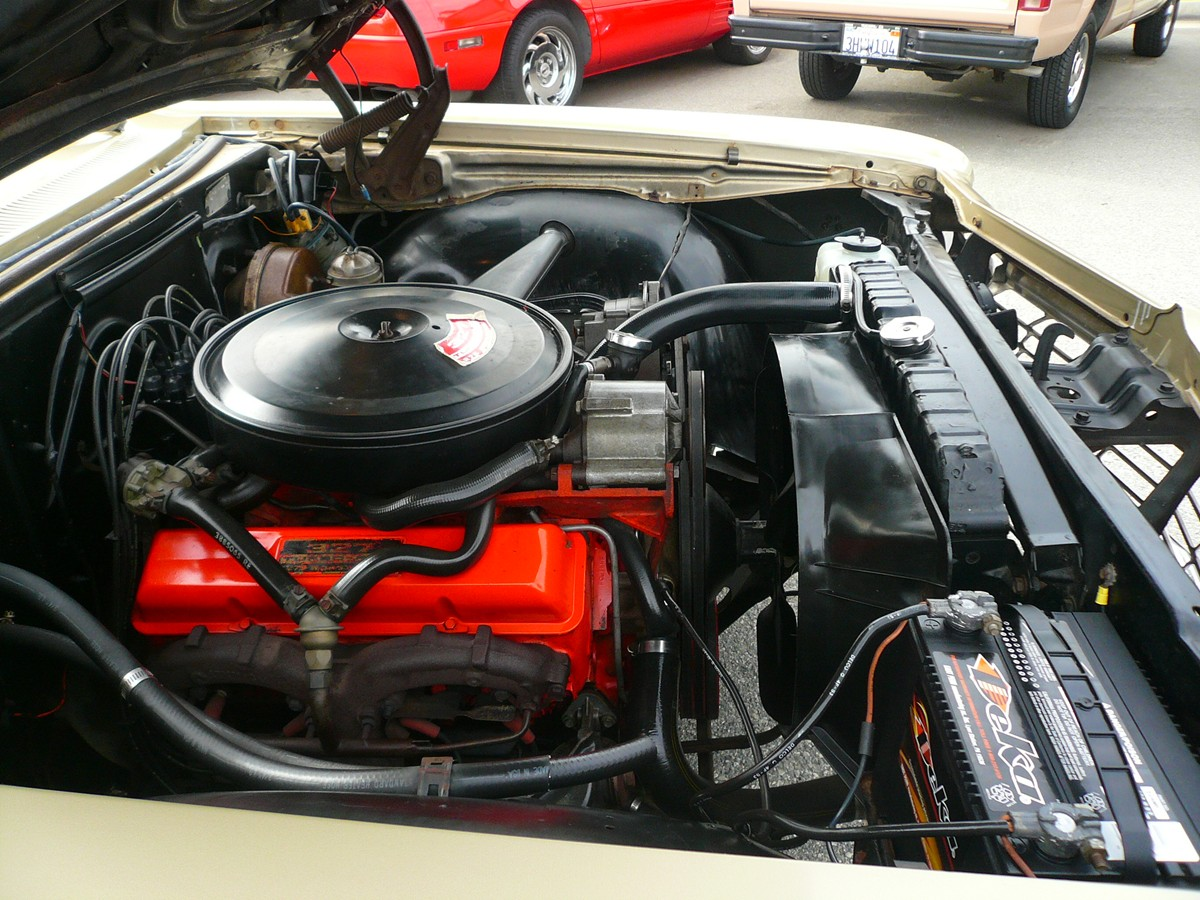 CHEVROLET IMPALA 3 engine