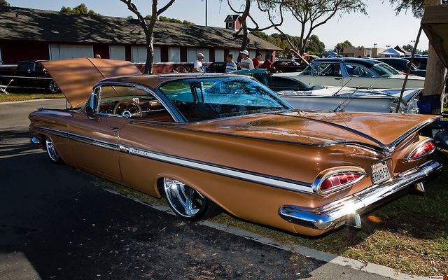 CHEVROLET IMPALA brown
