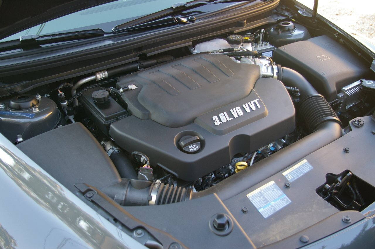 CHEVROLET MALIBU engine