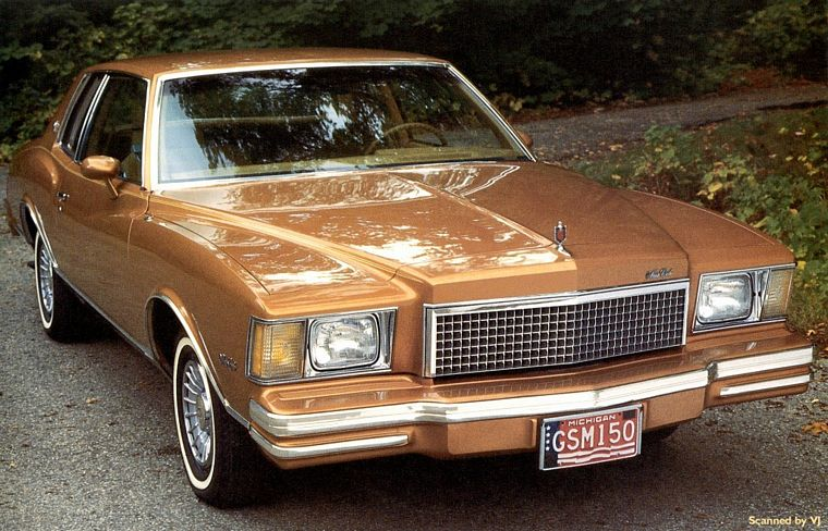 CHEVROLET MONTE CARLO COUPE brown