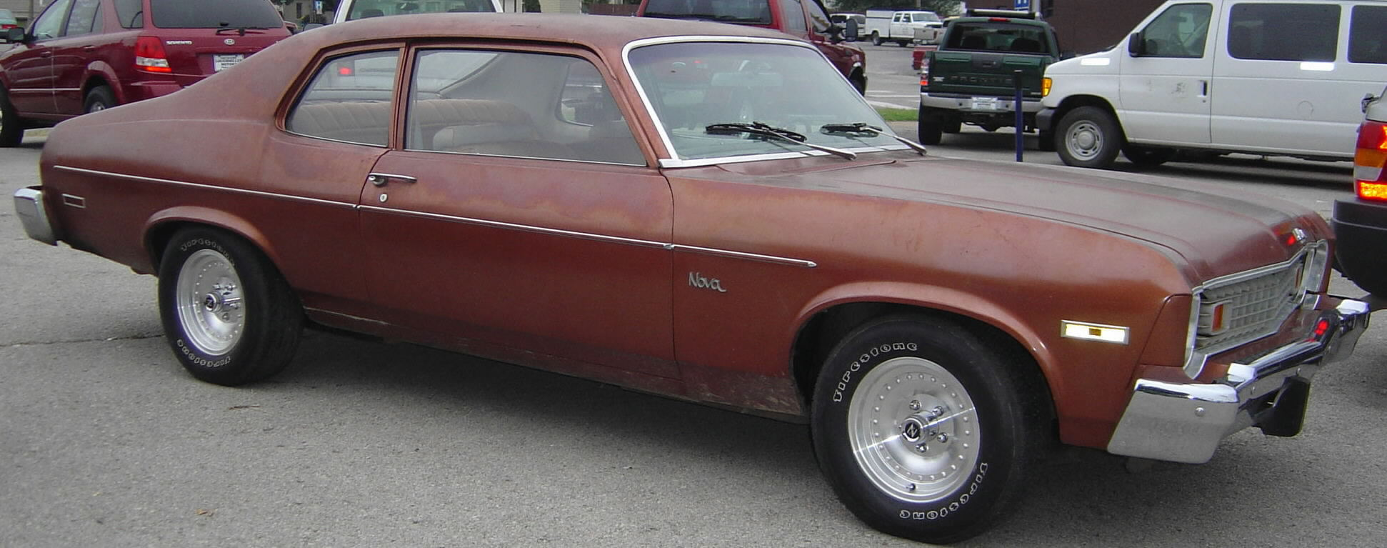 CHEVROLET NOVA brown