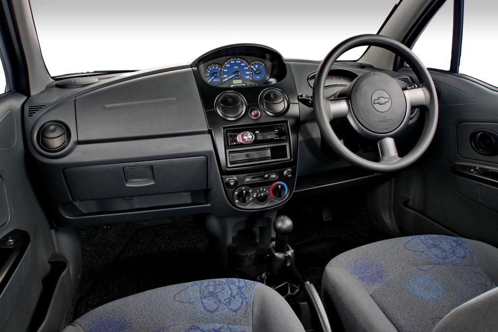 CHEVROLET SPARK 0.8 interior
