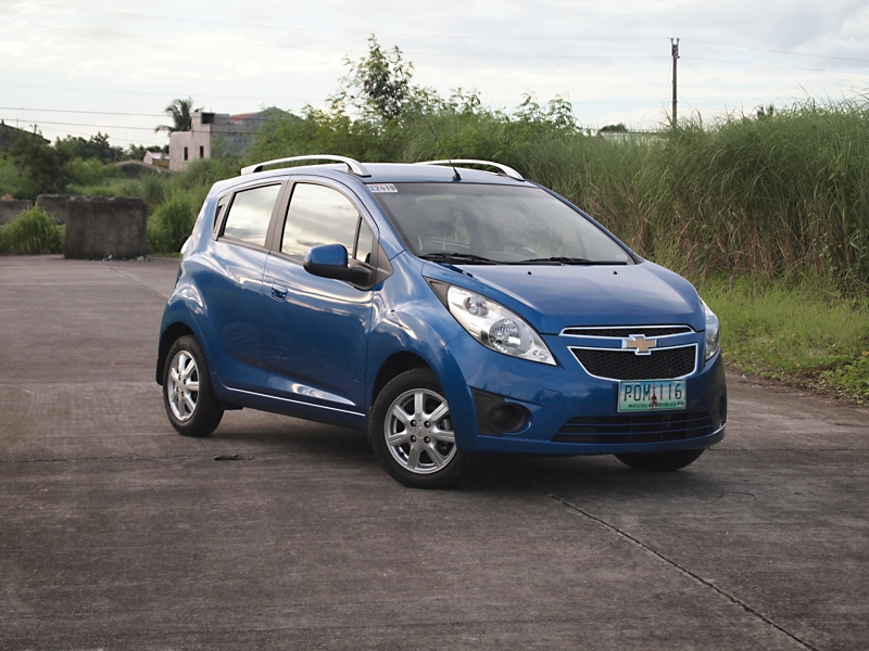 CHEVROLET SPARK brown