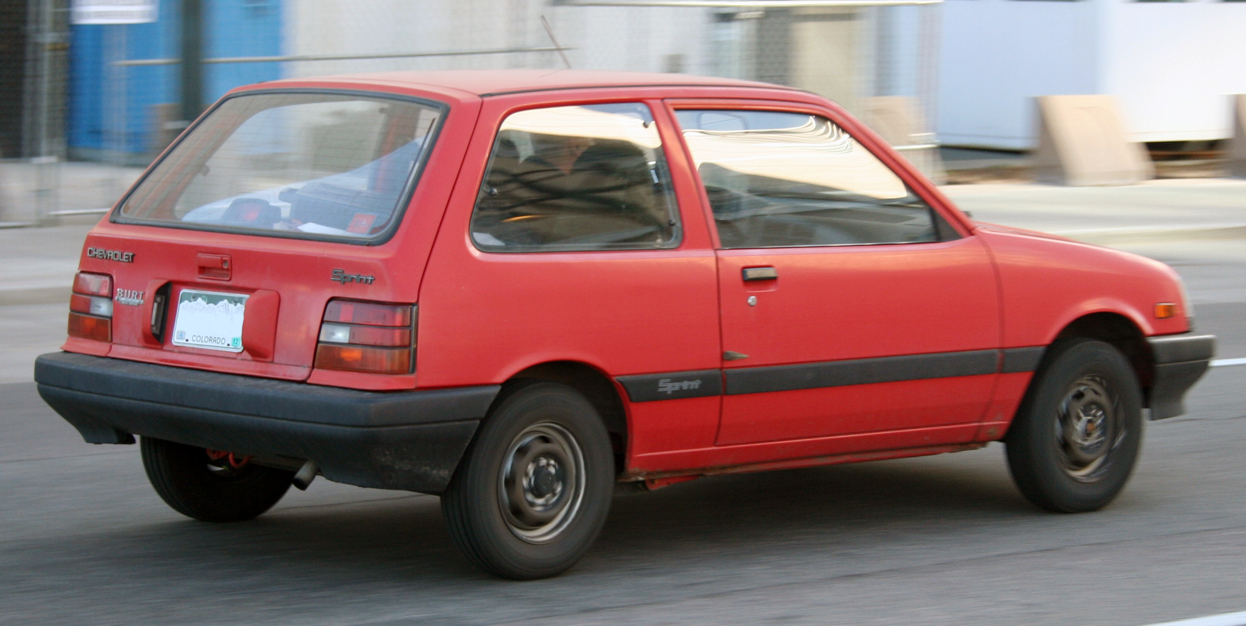 CHEVROLET SPRINT red