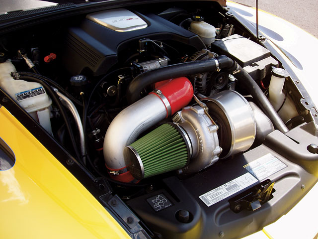 CHEVROLET SSR engine