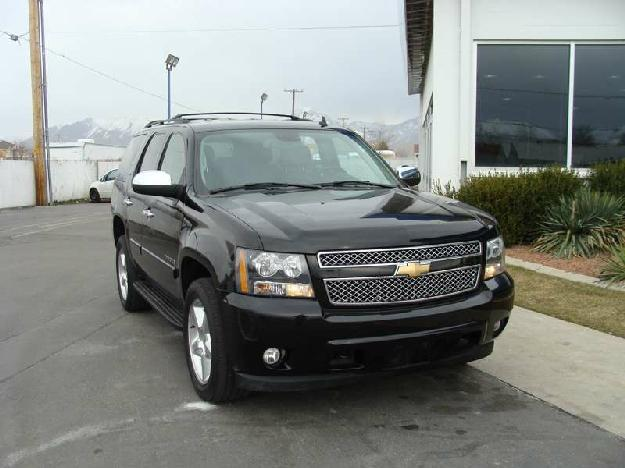 CHEVROLET TAHOE 4WD black