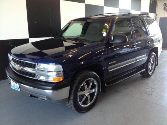 CHEVROLET TAHOE 4WD blue