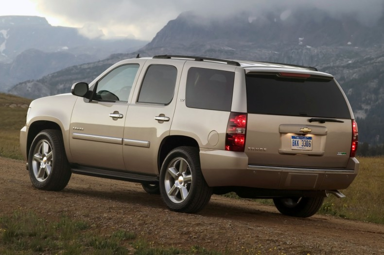 CHEVROLET TAHOE brown