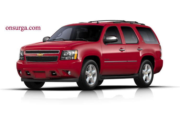 CHEVROLET TAHOE red