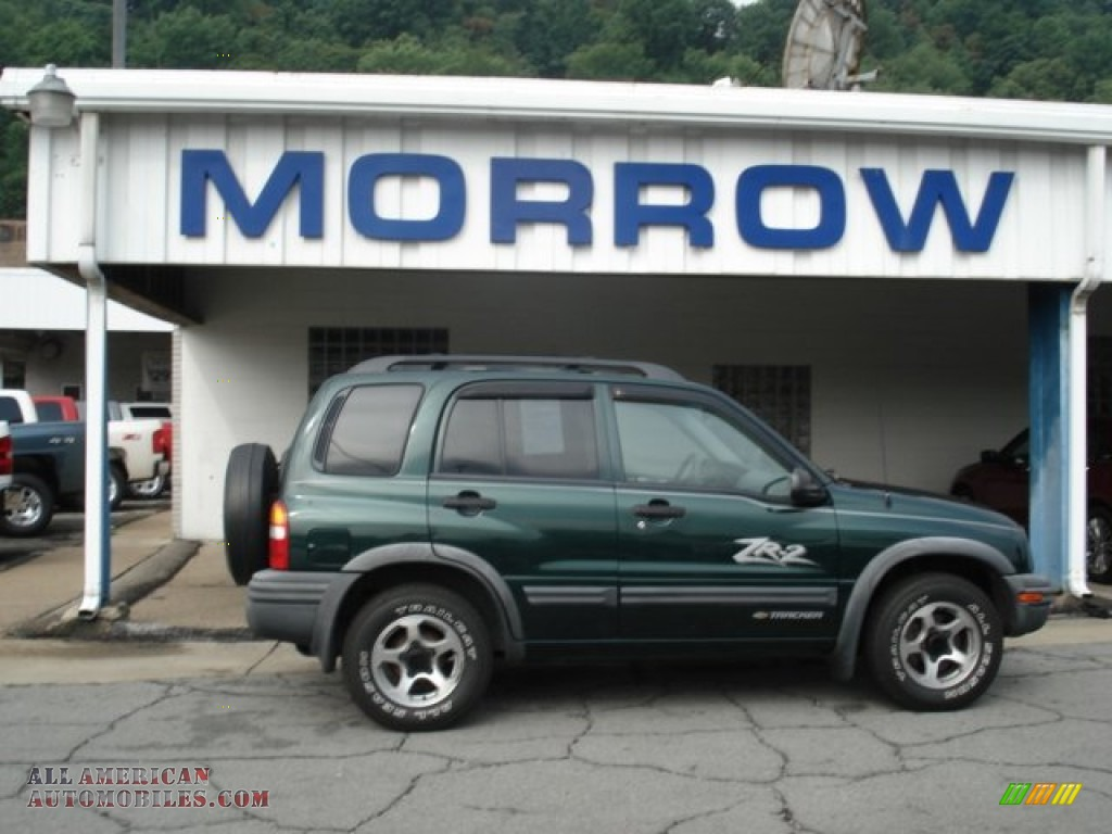 CHEVROLET TRACKER green