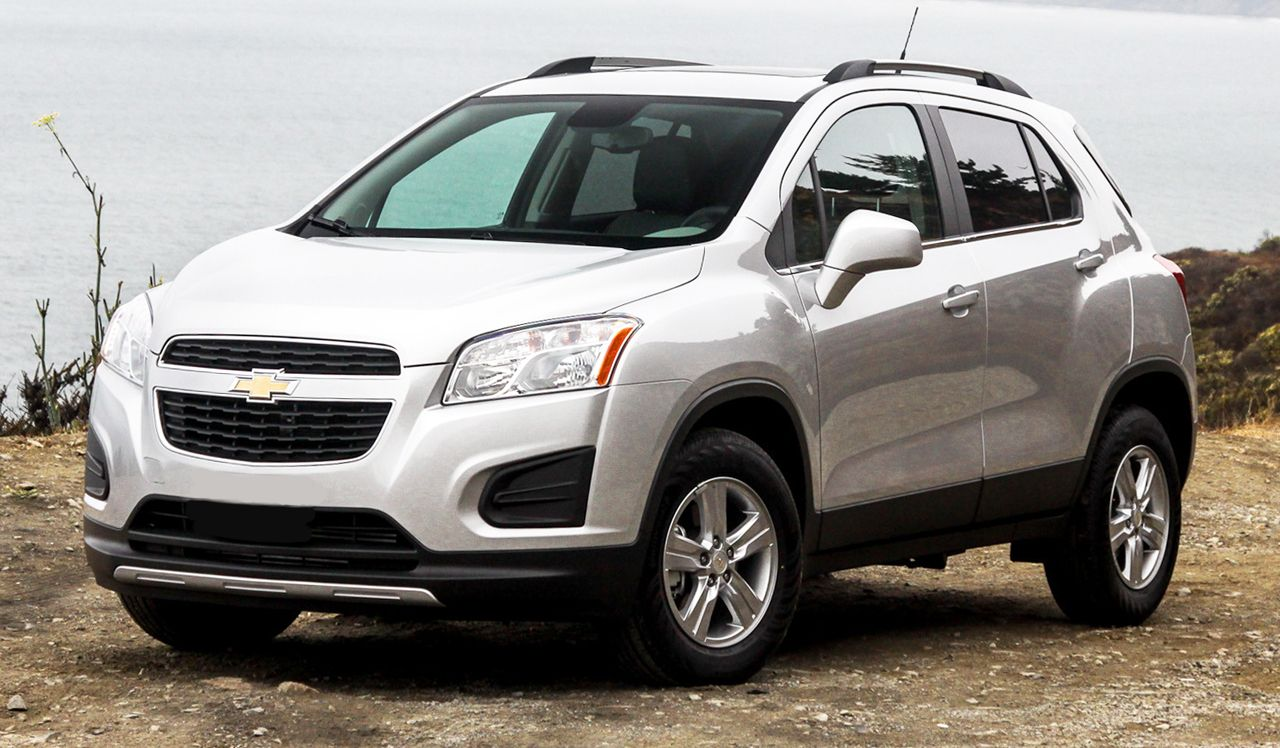 CHEVROLET TRACKER white