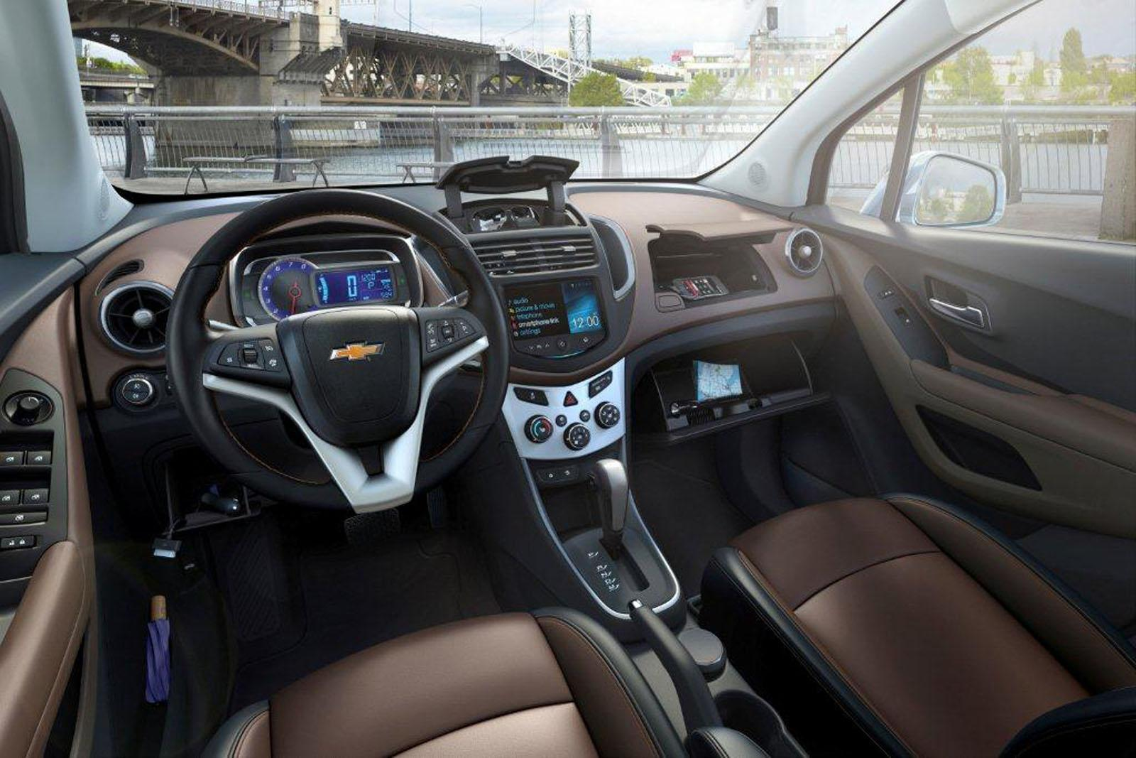 Chevrolet trax review and photos for Chevrolet interieur