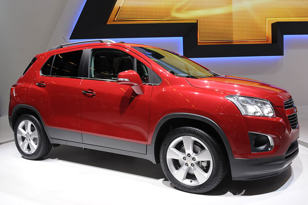 CHEVROLET TRAX engine