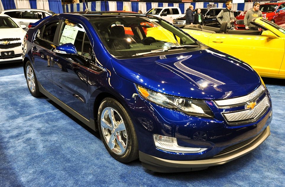 CHEVROLET VOLT blue