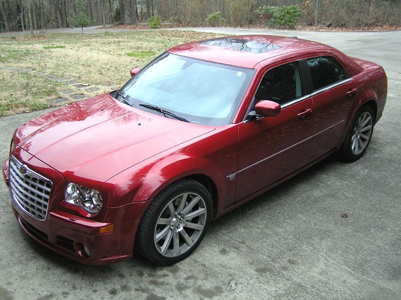 CHRYSLER 300 red