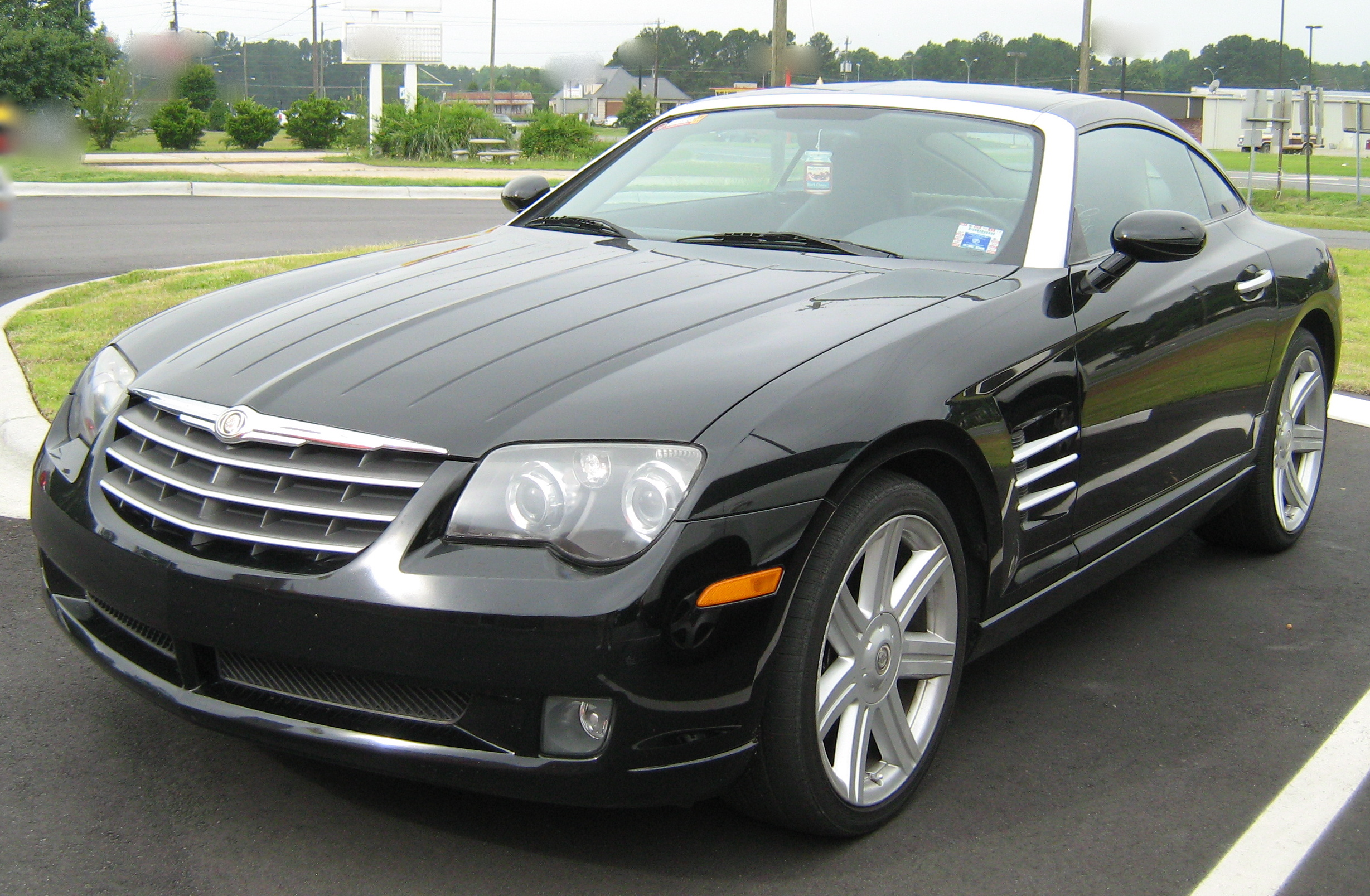 CHRYSLER CROSSFIRE AUTOMATIC black