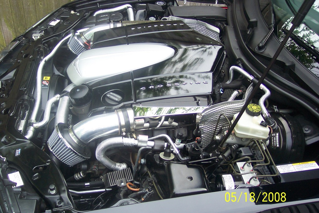 CHRYSLER CROSSFIRE AUTOMATIC engine