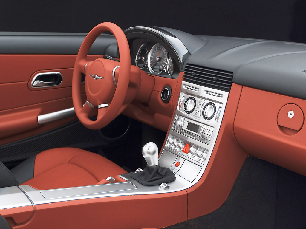CHRYSLER CROSSFIRE AUTOMATIC interior