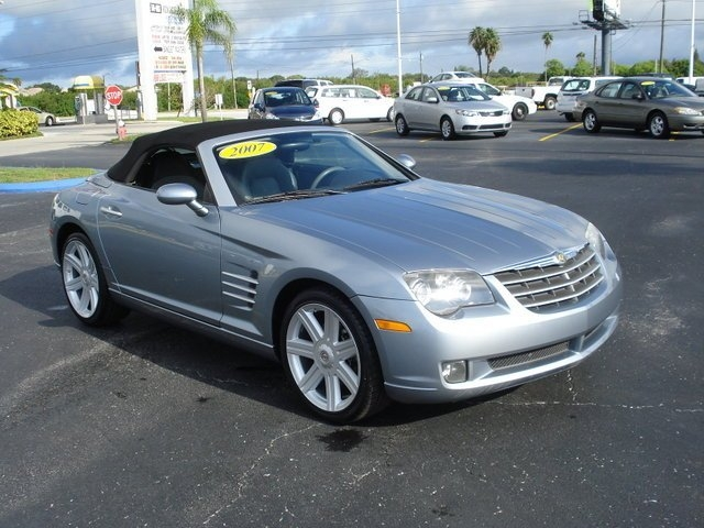 CHRYSLER CROSSFIRE AUTOMATIC silver