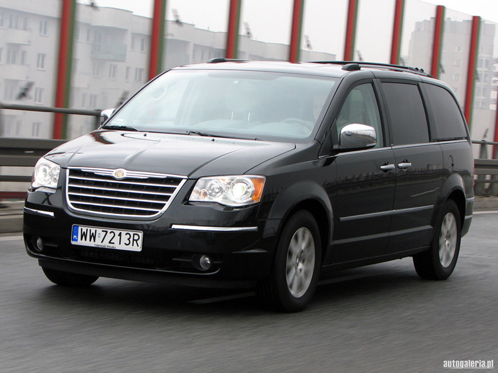Chrysler Voyager Review And Photos Tuning Grand