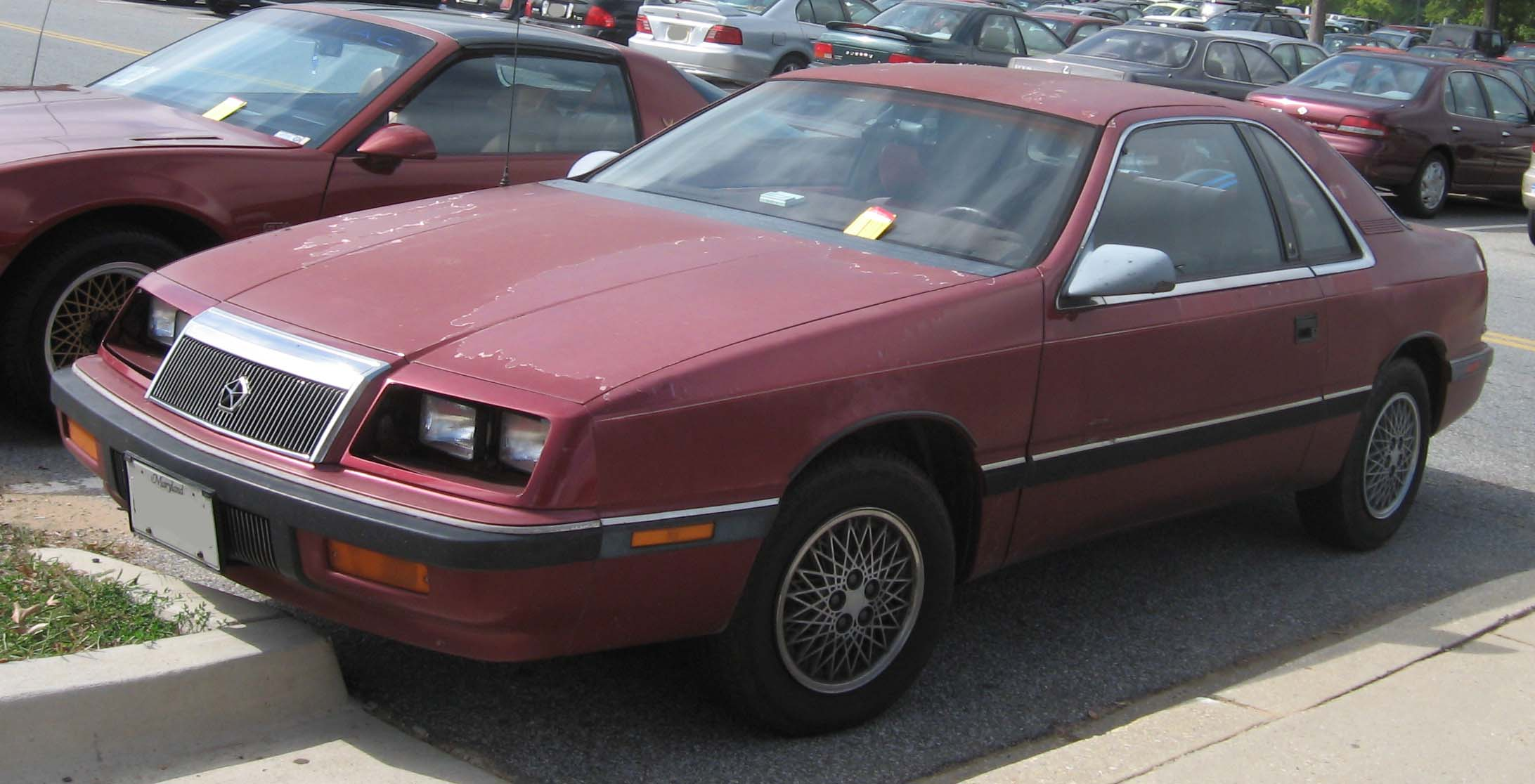 CHRYSLER LEBARON red