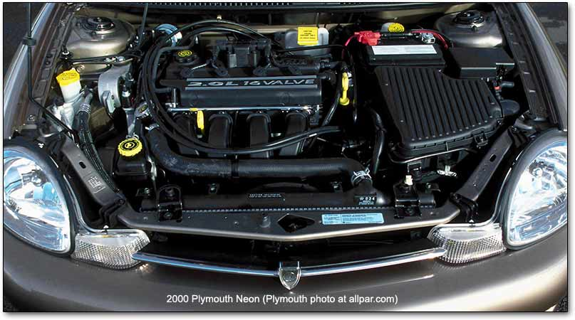 CHRYSLER NEON RT engine