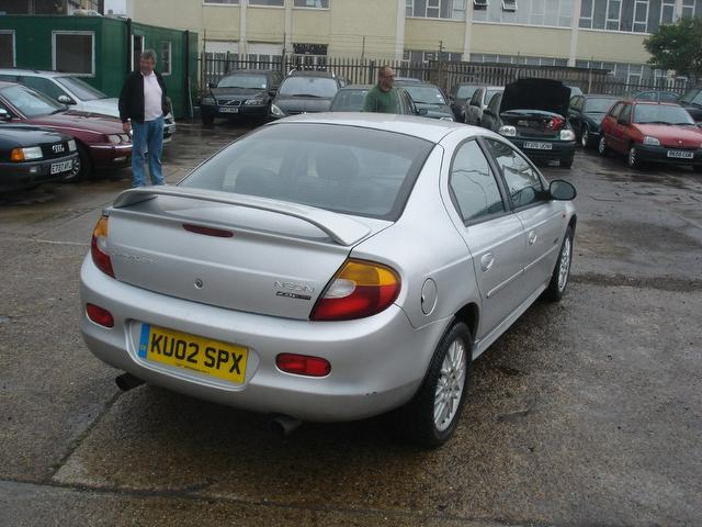 CHRYSLER NEON RT silver