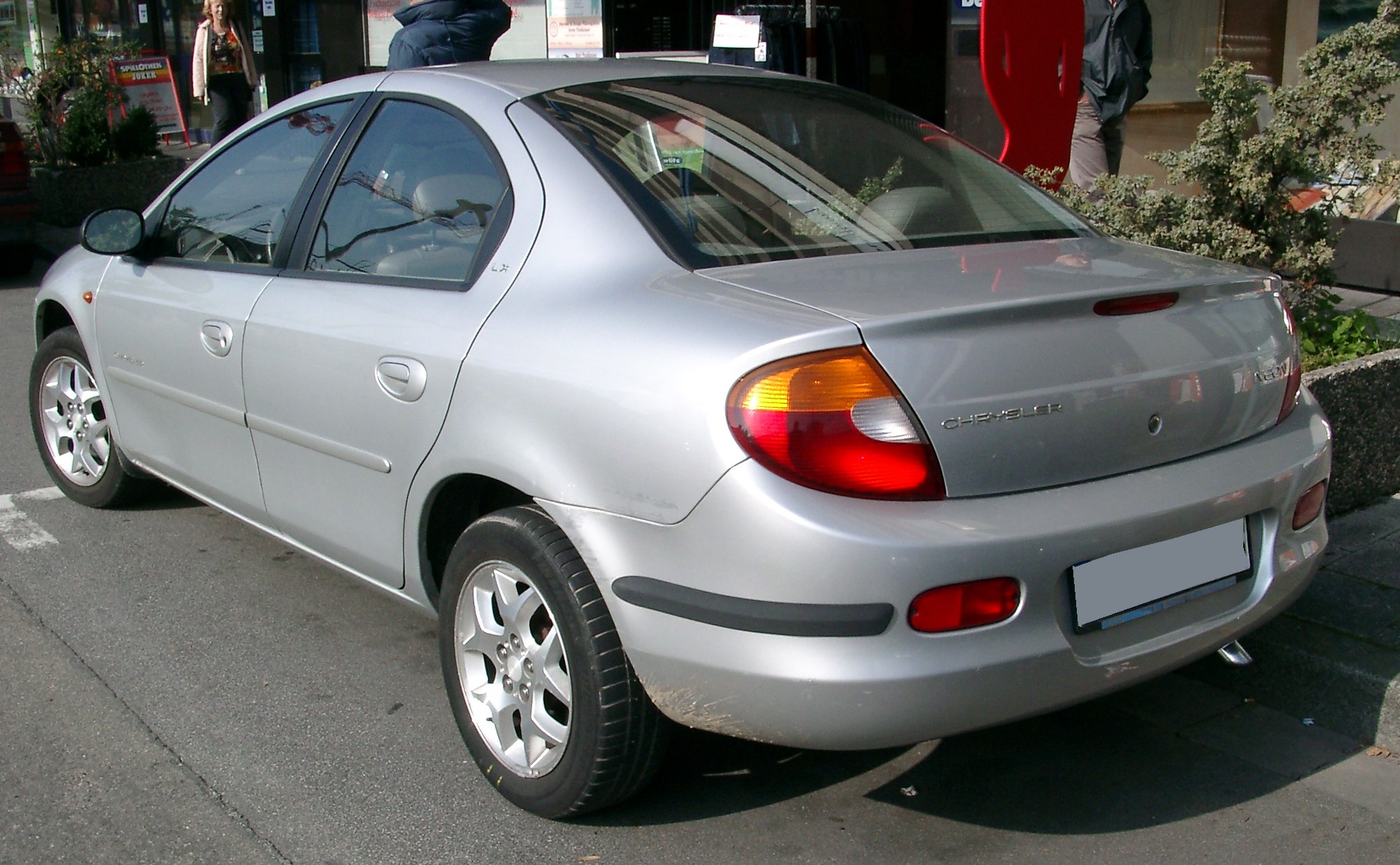 chrysler wallpaper (Chrysler Neon)