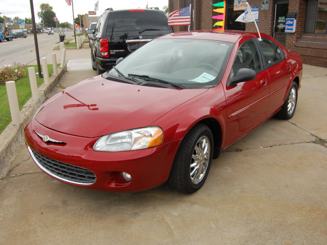 CHRYSLER SEBRING 2.7 red